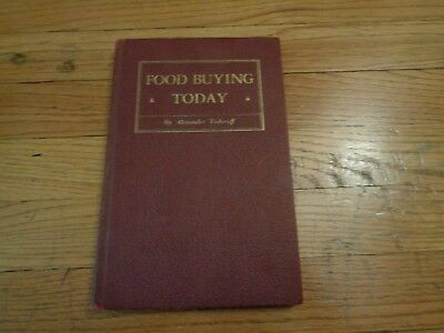 Food Buying Today Grocery Trade Publishing House 1939 Vintage Book Supermarket