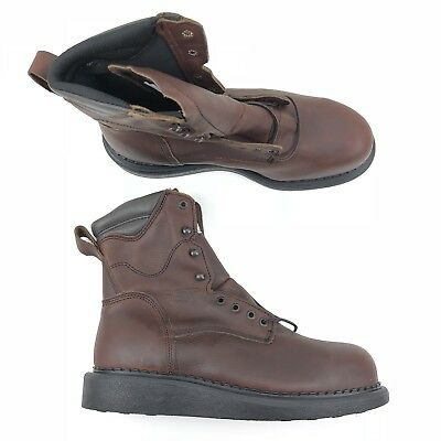 8fe94f21bbf RED WING WEDGE Sole Ironworker Safety Boot Electrical Hazard Steel Toe 3568