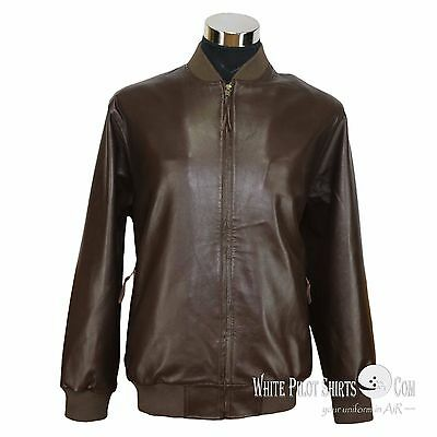 f94a4ca0b MENS LEATHER JACKET Club Monaco Polo Rib Bomber Simple style Gents ...