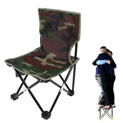 Outdoor Fishing Chair Camouflage Folding Chair Camping Hiking Chair Beach Picnic