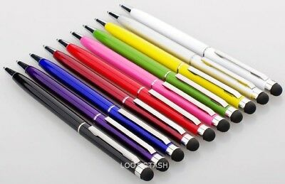 1 Universal Capacitive Touch Screen Stylus Pen with Ball Point Pen Pens - AA1