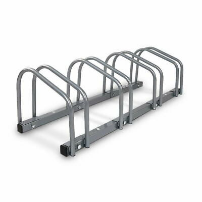 1 ¨C 4 Bike Floor Parking Rack Instant Storage Stand Bicycle Cycling Portable G