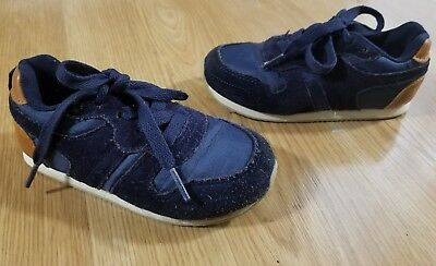SIZE 10 NAVY Blue Boys Kids Sneakers Trainers Athletic Shoes by GAP ... 3c32c4539