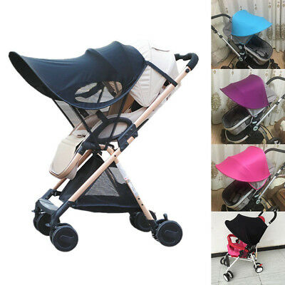Visor Carriage Sun Shade Canopy Cover for Baby Prams Stroller Buggy Pushchair