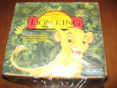 ✦Skybox Lion King Series I Factory Sealed Box ✦