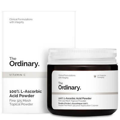 The Ordinary 100% L-Ascorbic Acid Powder 20g Anti-aging Soothing Skin