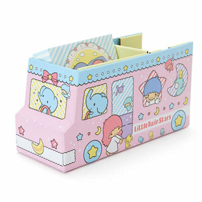 Sanrio Little Twin Stars Bus Storage Box Paper Tape & Memo Set 401846N