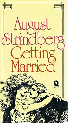 Getting Married by Strindberg, August Paperback Book The Cheap Fast Free Post