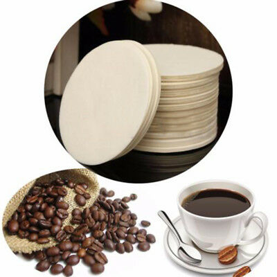 350pcs White Round Coffee Replacement Paper Filter For Aeropress Coffee Maker