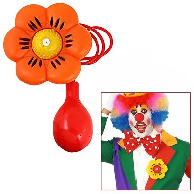 CLOWN SPRITZBLUME # Karneval Fasching Herren Damen Party Fest Kostüm Party 2316