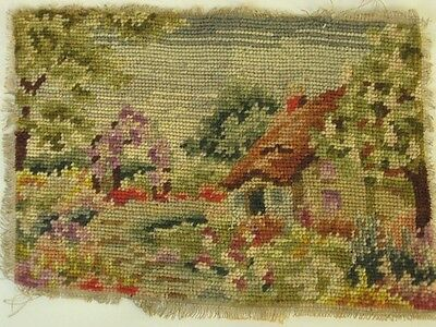 TAPESTRY depicting COTTAGE - 320 MM X 215 MM