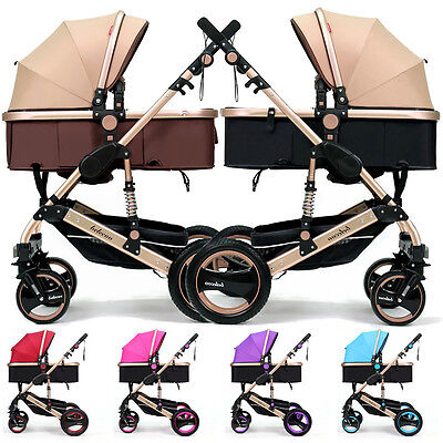 Belecoo Baby Child Travel Carriage Stroller Kid Buggy Pushchair Pram Foldable GT