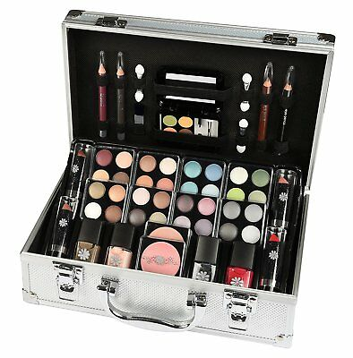 Case makeup of Beauty Travel with Accessories 52 Pieces Cosmetics New