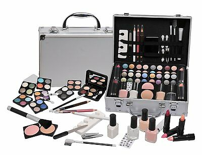 Case makeup of Beauty Travel with Accessories 58 Pieces Cosmetics New