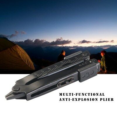 Knife Screwdriver Survival Gear Multi-Purpose Pliers Camping Tool Plier Black