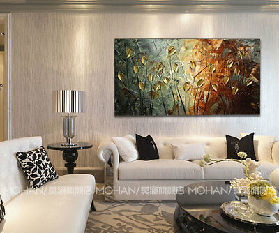 CHENPAT71 fine wall art abstract flower oil painting 100% hand-painted on canvas