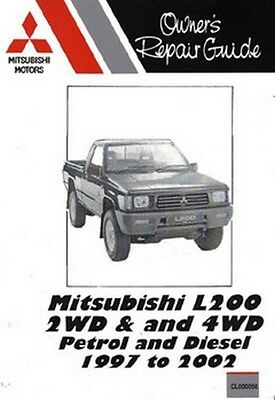 mitsubishi l200 2wd 4wd petrol and diesel car pickup manual rh picclick co uk Mitsubishi L200 4x4 Engine Mitsubishi L200 4x4