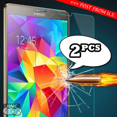 2 X Tempered Glass Screen Protector for Samsung Galaxy Tab E 8.0 SM-T375 T377