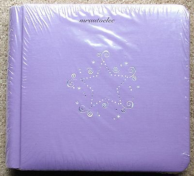 Creative Memories Lilac Stardust 7x7 Album Coverset WITH WHITE PAGES