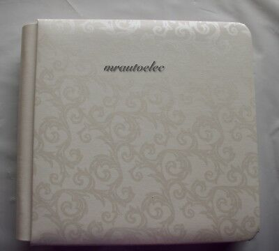 Creative Memories Promise Antique White 7x7 album with pages BNIB (box soiled)