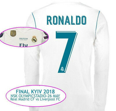 Maglia Real Madrid Final Kyiv Soccer Jersey 2018 Champions League