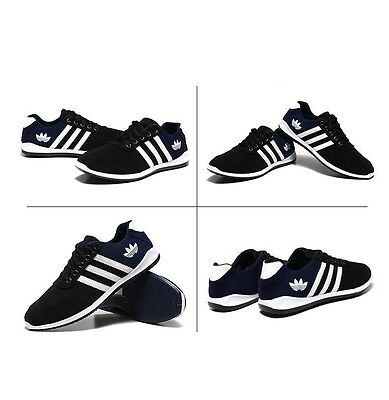 Men's Shoes Fashion Breathable Casual Canvas Sneakers Running Shoes UK 6-9