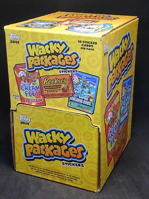2014 Wacky Packages Gravity Feed Box