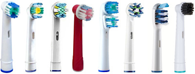 Electric Toothbrush Heads-Compatible With Oral B Braun Models 4/8/16/24pcs UK