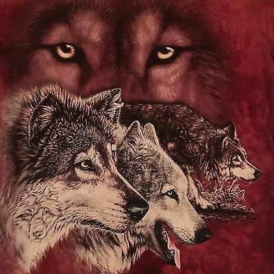 mountain HIDDEN WOLVES t shirt-GARDNER art-LIVING TREASURES WILD ANIMAL PARK--M