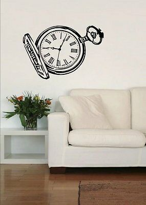 Fabulous full of character Pocket Watch wall stickers quality art best seller UK