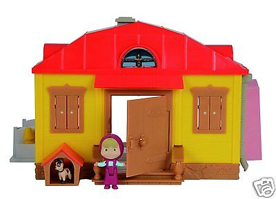 Toy TV the House of Masha and bear with Figures accessories from Simba Novelty