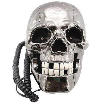 Phone Skull Cable with Eyes LED Intermittent Gore Decoration Business
