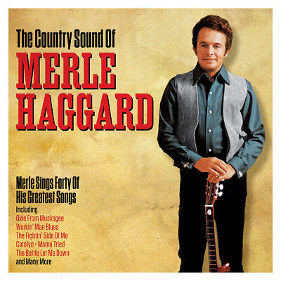 Merle Haggard THE COUNTRY SOUND OF Best Of 40 Essential Songs GREATEST New 2 CD