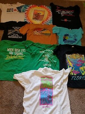 Lot of Vintage 1980s 90s T Shirts