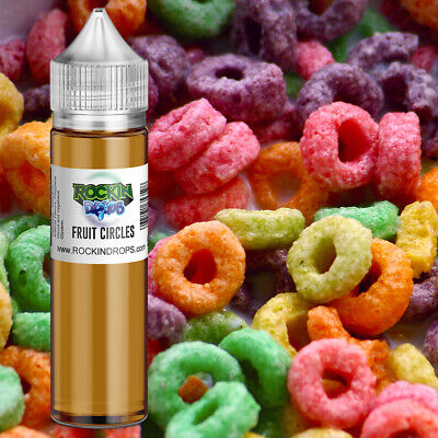 ROCKINDROPS Fruit Circles Food Flavor Flavoring Concentrate TFA 10ml 30ml 50ml