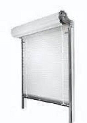 "Roll Down Door for Sliding Glass Door 8'w x  6'8""h  FREE SHIPPING"