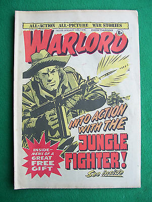 'Warlord' comic, no. 68, January 10th, 1976 (very good condition)
