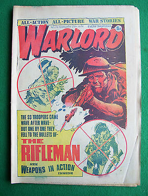 'Warlord' comic, no. 75, February 28th, 1976 (good condition)