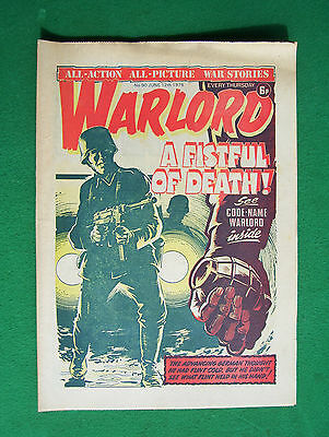 'Warlord' comic, no. 90, June 12th, 1976 (good condition)
