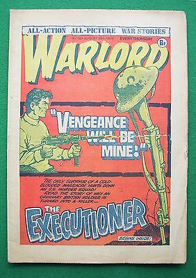 'Warlord' comic, no. 101, August 28th 1976 (good to very good condition)