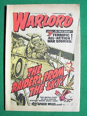 'Warlord' comic, no. 132, April 2nd 1977 (good to very good condition) #1 of 2
