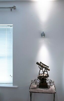 CONDUIT Industrial Style Lighting.Tee A.C. Up / Downlighter Pin Spot. Cool White