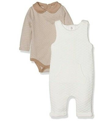 _Mamas & Papas Quilted D/Ree & B/Suit 3-6 Months