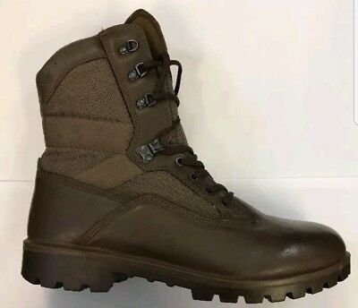 YDS Men's Brown Combat Boots Men Size Uk 11