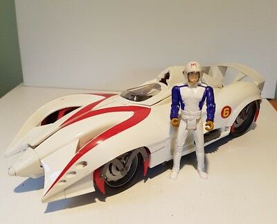 Speed Racer vehicle car Mach 6 Movie collectable works well action figure loose