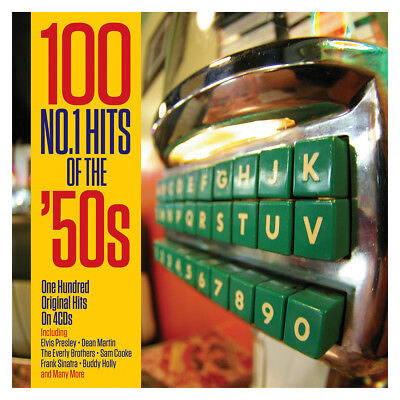 100 No. 1 Hits Of The 50s (NOT4CD026) VARIOUS ARTISTS Best Of 100 Songs NEW 4 CD