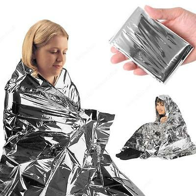 1 Space Blanket Thermal Thermo Emergency Survival Camping First Aid OZ