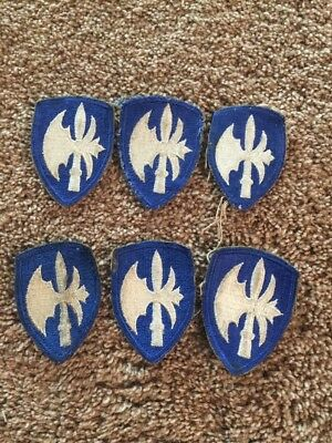 Army 65th Division Patches - Lot of 6 - WW2