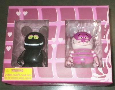 Cheshire Cat Invisible Clear Black Disney VINYLMATION Combo Box Set WDW LE 2500