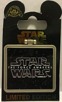 GENERAL LEIA The Force Awakens Disney Star Wars Frame Pin Limited Edition 10000